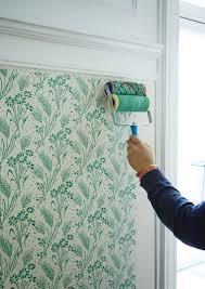 idee tapisserie cuisine idée déco salon chambre cuisine walls