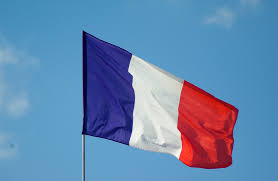 The France Flag Free Images Sky Wind France Color Blue Nation Red Flag