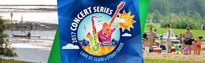 Kensington Metropark Map 2017 Summer Concert Series Lake St Clair U0026 Stony Creek Huron
