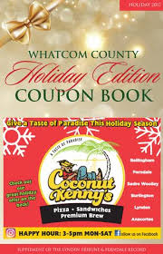 holiday coupon whatcom county holiday coupon book november edition by lynden