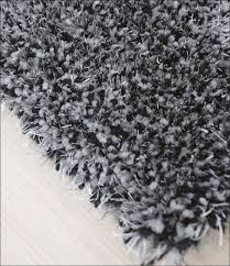 Fuzzy Area Rug Interiors Marvelous Fuzzy Area Rugs Black And White Shag Rug