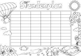 stundenplan designen stundenplan erstellen