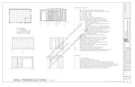 22 x 14 art studio plans blueprints construction documents sds plans