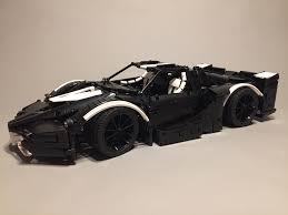ferrari lego f40 lego moc 5889 ferrari fxx supercharged v12 technic 2016
