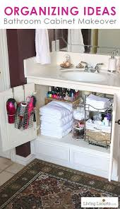 bathroom cabinet organizer ideas stylish bathroom cabinet organization ideas 1000 ideas about