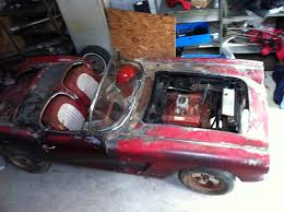 1961 corvette project car for sale corvettes on ebay barn find 1960 corvette would a great