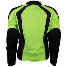 motorcycle riding jackets with armor womens advanced 3 season ce armor hi vis mesh motorcycle jacket