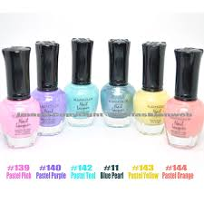 amazon com 6 new kleancolor pastel summer collection lot nail