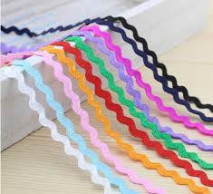 ric rac ribbon online shop free shipping ric rac ribbon 10colours 3meter each 5mm