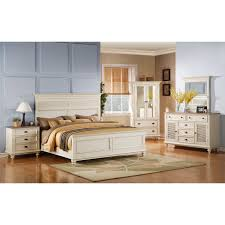 riverside bedroom furniture riverside coventry shutter panel bed hayneedle