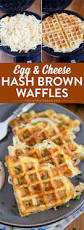 these easy cheesy hash brown waffles are just the hack you need