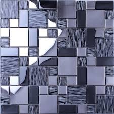 mirror tile backsplash kitchen 11 pcs lot glass stainless steel mirror tiles backsplash porcelain