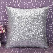 home decor dropship new qualified solid color glitter sequins throw cafe home decor