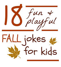 fall jokes for lunches school and activities