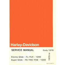 28 1976 fxe superglide harley service manual 106282 harley