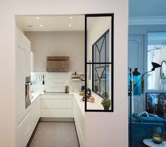 cuisine en forme de l appartement lyon un haussmannien de 115 m2 qui invite au voyage