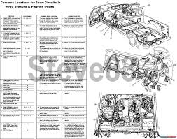 1983 ford bronco tsbs u0026 fsas recalls for u002783 96 broncos u0026 f150s