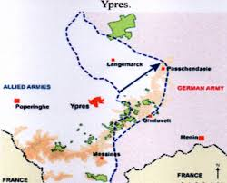 Ww1 Map Widecombe World War 1 John Henry Irish