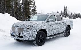 mercedes pickup truck mercedes pickup truck sheds some camo for spy photographers
