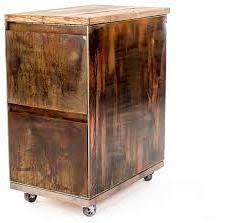 Rustic File Cabinet Vintage 2 Drawer Mobile File Cabinet Rustic Filing Cabinets