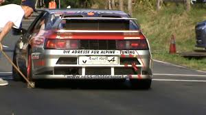 renault alpine a310 interior renault alpine v6 turbo 2016 bergrennen axel ress youtube