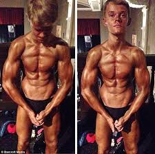 Bodybuilder Bench Press This 15year Old Boy Who Can Do A 165pound Bench Press Is The Next