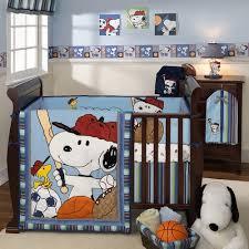 Snoopy Crib Bedding Lambs Team Snoopy Baby Crib Bedding Free Shipping