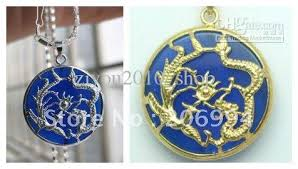 blue jade necklace images 2018 real jade jewelry beautiful blue jade silver dragon phoenix jpg
