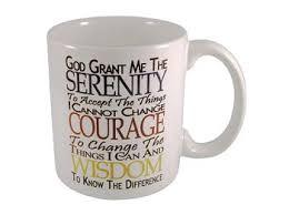 serenity prayer mug 12 step recovery gifts serenity prayer coffee cups at