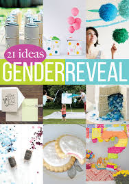 gender reveal announcements 21 gender reveal crafts andrea s notebook