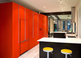 bold colors small row house renovation idea bold colors