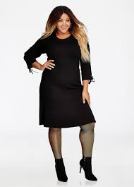 casual plus size dress designs for women ashley stewart