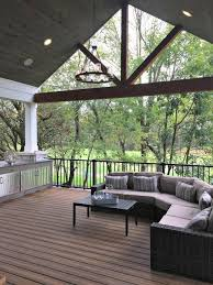 Outdoor Patio Ceiling Ideas by Best 25 Covered Decks Ideas On Pinterest Deck Covered Covered