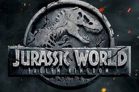 the jurassic fallen kingdom poster is just a single nostalgic