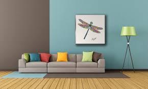 dragonfly wall art on wood u2013 gogimogi