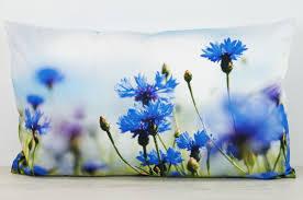 coussin imprime annes table aliso bleuet housse de coussin impression