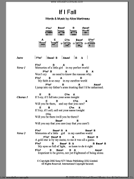 light of the world chords martineau if i fall sheet music for guitar chords