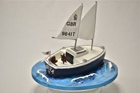 sailboat cake topper sailing boat cake celebration cakes cakeology