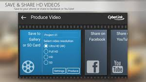 powerdirector video editor app 4k slow mo u0026 more android apps