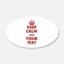 keep calm car magnets cafepress