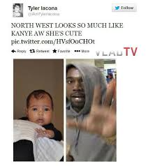 North West Meme - exclusive twitter reacts to unveiling of north west with clever memes