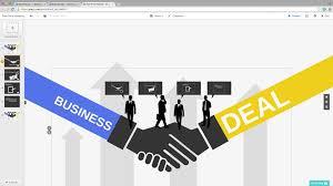 free prezi template business deal youtube