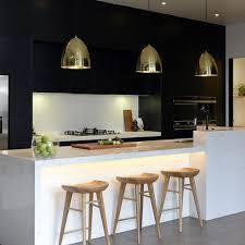 Black Cabinets White Countertops 34 Timelessly Elegant Black And White Kitchens Digsdigs