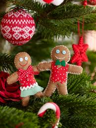 how to make felt gingerbread men decorations hobbycraft blog