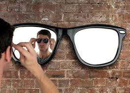 Cool Looking - cool looking wall mirror by thabto