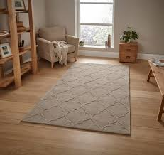 Ebay Laminate Flooring Hong Kong Hand Tufted Trellis Design Rug Arabesque Style Home