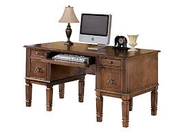 buckingham computer desk medium brown raymour u0026 flanigan