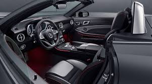 mercedes benz silver lightning interior mercedes benz sl designo edition and slc redart edition