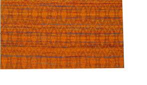 Sari Rug Rugsville Orange Sari Silk 13863 Rug Rugsville Co Uk
