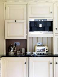 hidden kitchen appliances leave room for more counter space